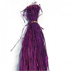 Madeja 200 grs Rafia Natural Color MORADO