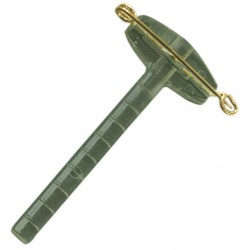 Paq. 50 Pin-Clips 5 cms VERDE-ORO